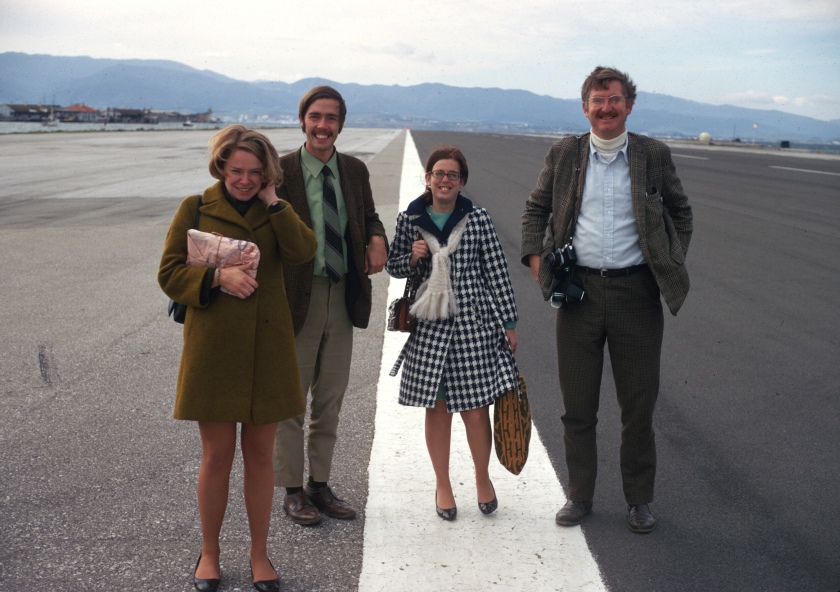 gibraltar airport don eileen marty gay