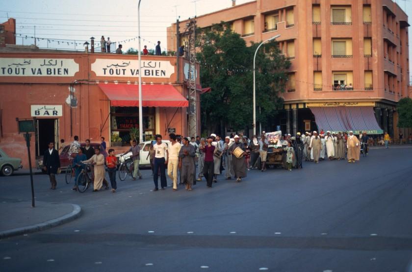 Morocco Marrakesh Procession