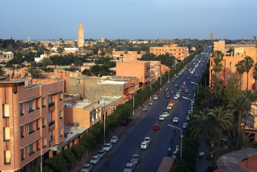 Morocco Marrakesh Street