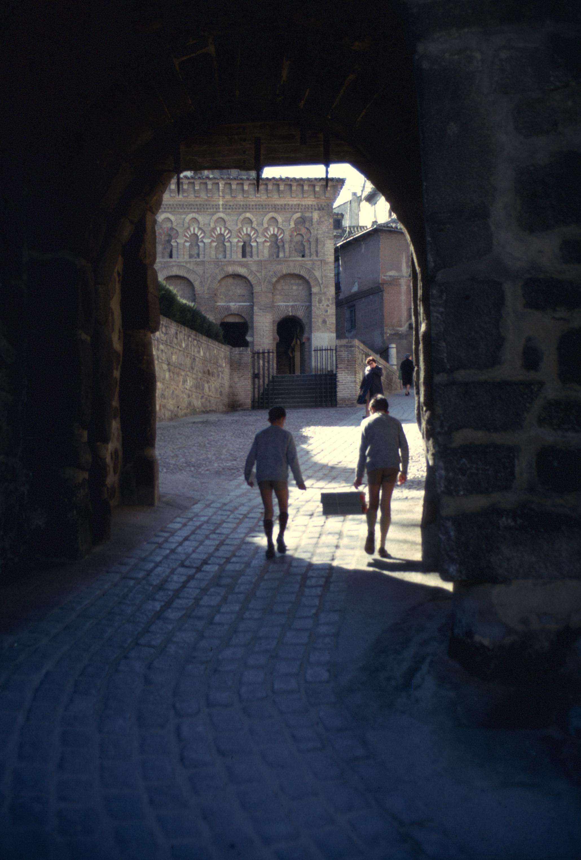 spain toledo gate mosque