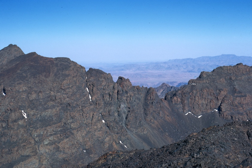 high atlas toubkal west ridge