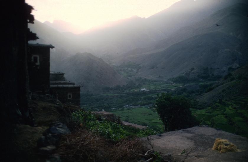 morocco h atlas village sunrise copy