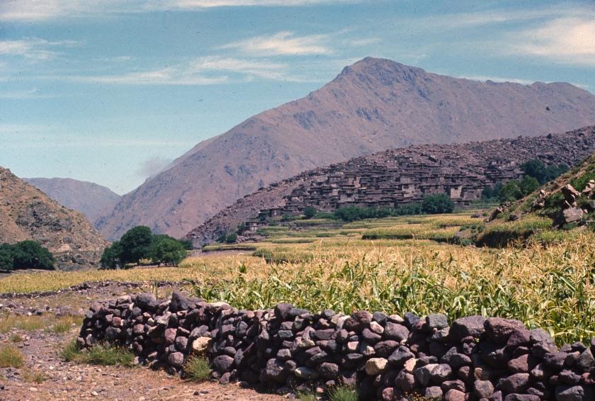 morocco high atlas asni area
