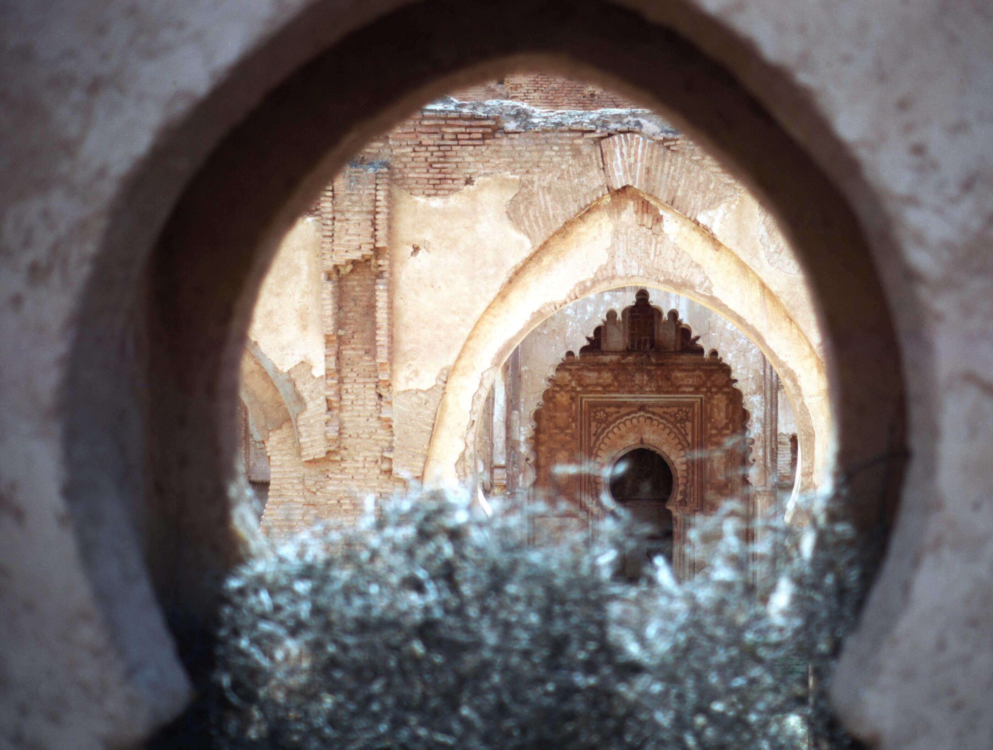 morocco high atlas tinmel mihrab ruins-1