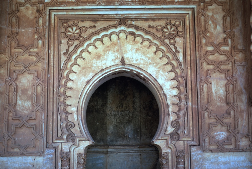 morocco high atlas tinmel mihrab