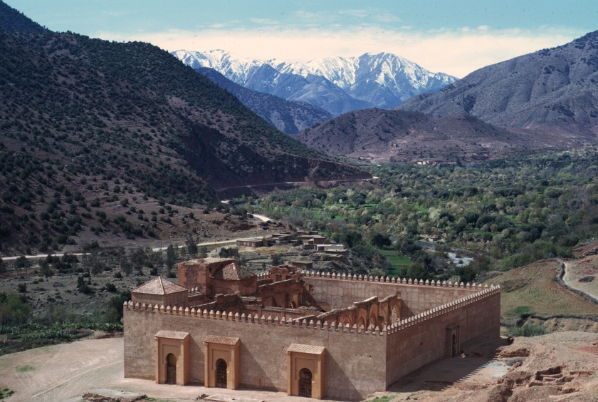 morocco high atlas tinmel