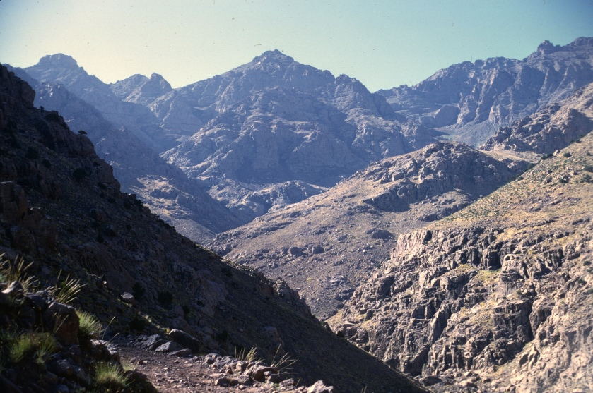 morocco high atlas trail to neltner
