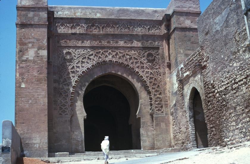 morocco rabat casbah gate