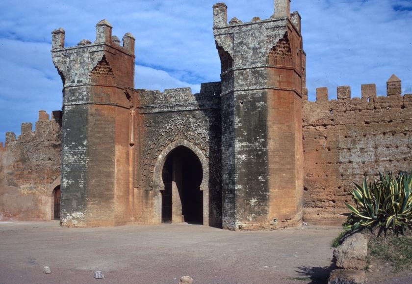 morocco rabat chella gate-1