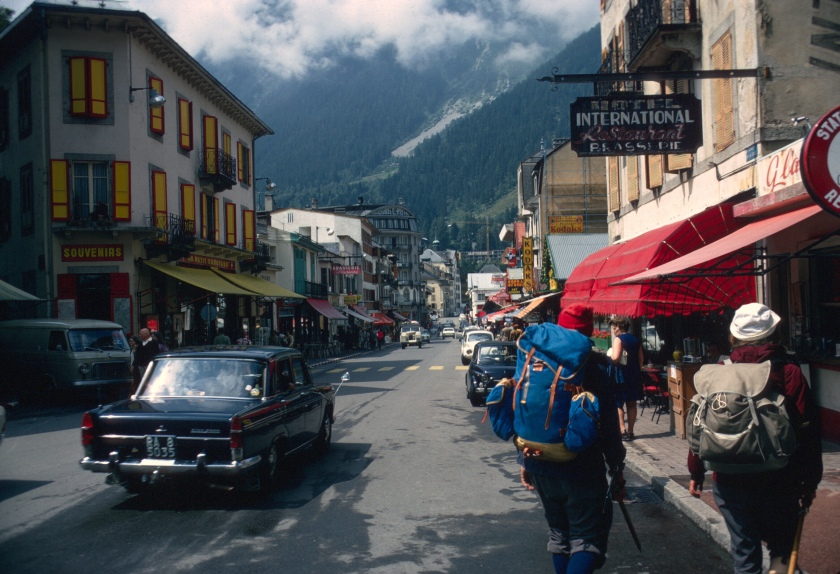 france chamonix main drag