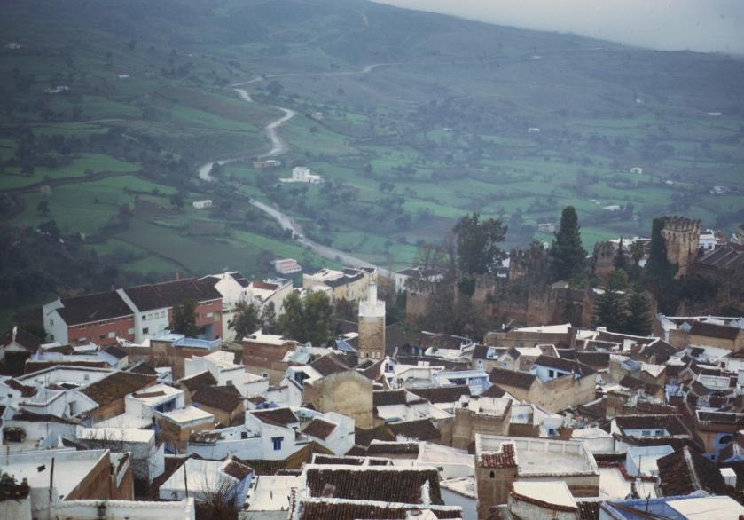 morocco chauen rain