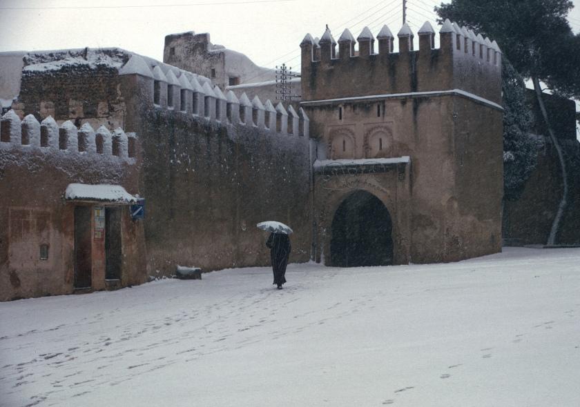 morocco sefrou snow bab
