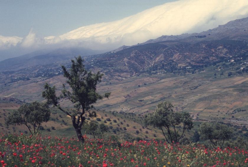morocco rif road to chauen