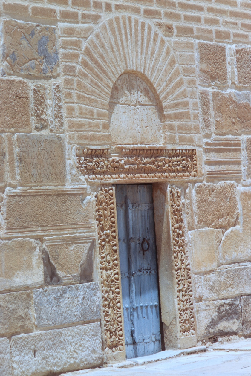 tunisia kairouan minaret door copy